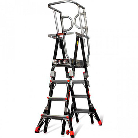 Compact Safety Cage Little Giant Ladder Integrated Distribution