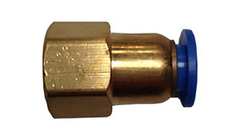 Kombi 1-4 inch FEMALE Push Fitting