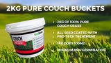 2kg Pure Couch Bucket