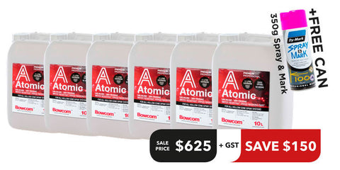 Atomic Paint Offer - 5 Tubs + 1 Free