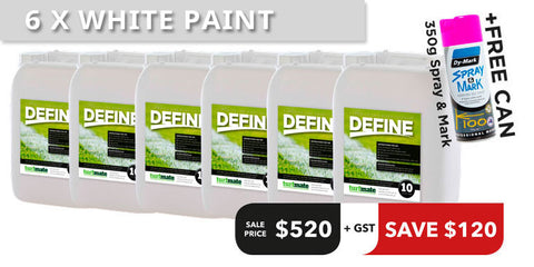Define Paint Offer - 5 Tubs + 1 Free