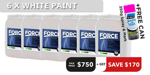 Force Paint Offer - 5 Tubs + 1 Free