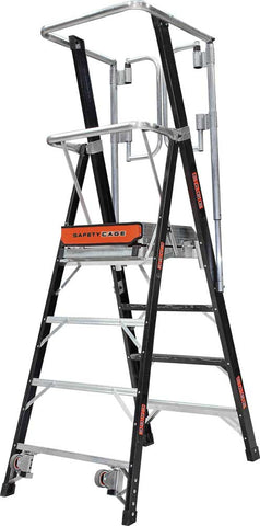 Little Giant Ladder Safety Cage Integrated Distribution Australia