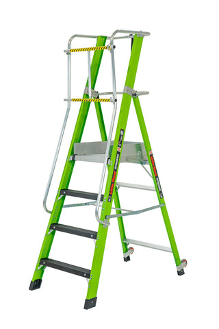 Stadium Ladder with Platform - 4 Step