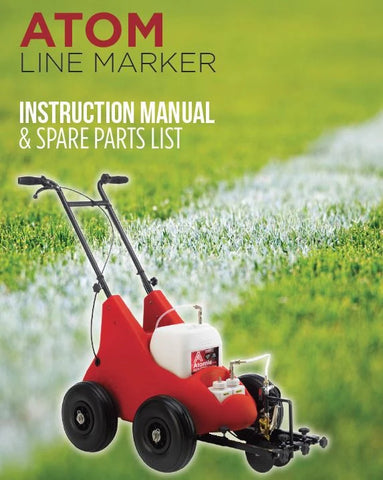 Atom instruction manual and spare parts list