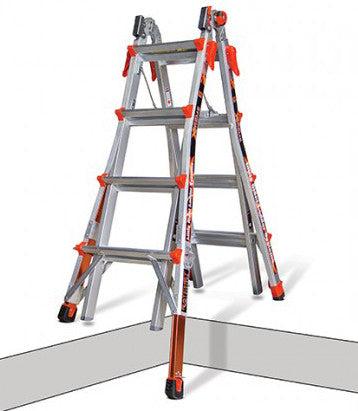 Xtreme Ladder With Ratchet Levelers Integrated Distribution