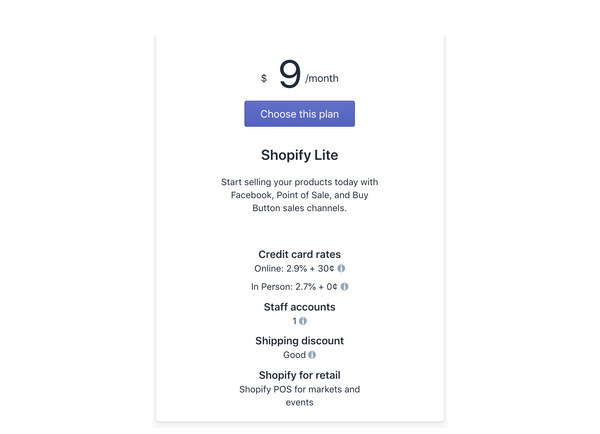 shopify light plan for hosting your store - Veronica Jeans, Ecommerce Business Consultant & Bestselling Author - Shopify Made Easy