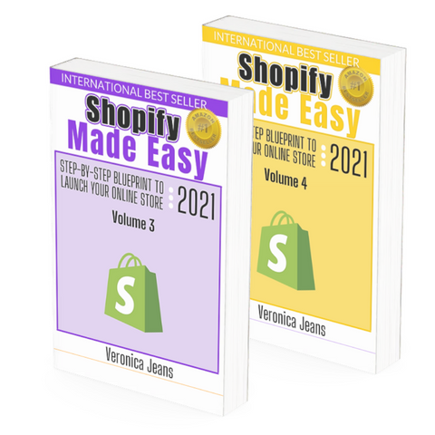 Shopify Made Easy - Veronica Jeans Best Selling author, Shopify Expert and Ecommerce Queen
