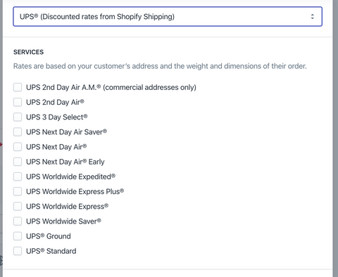 choose your shipping options- Veronica Jeans Shopify Queen & Bestselling Author ' Shopify Made Easy'