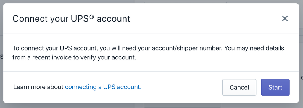 connect your UPS account in Shopify- Veronica Jeans Shopify Queen & Bestselling Author ' Shopify Made Easy'