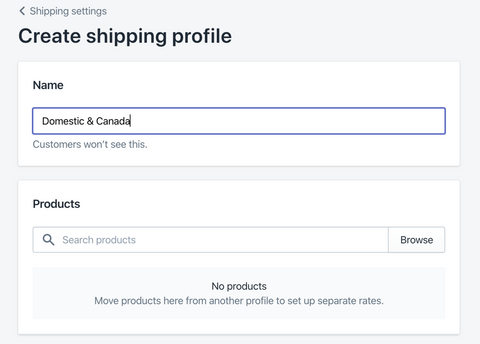 create your Shopify shipping profile- Veronica Jeans Shopify Queen & Bestselling Author ' Shopify Made Easy'
