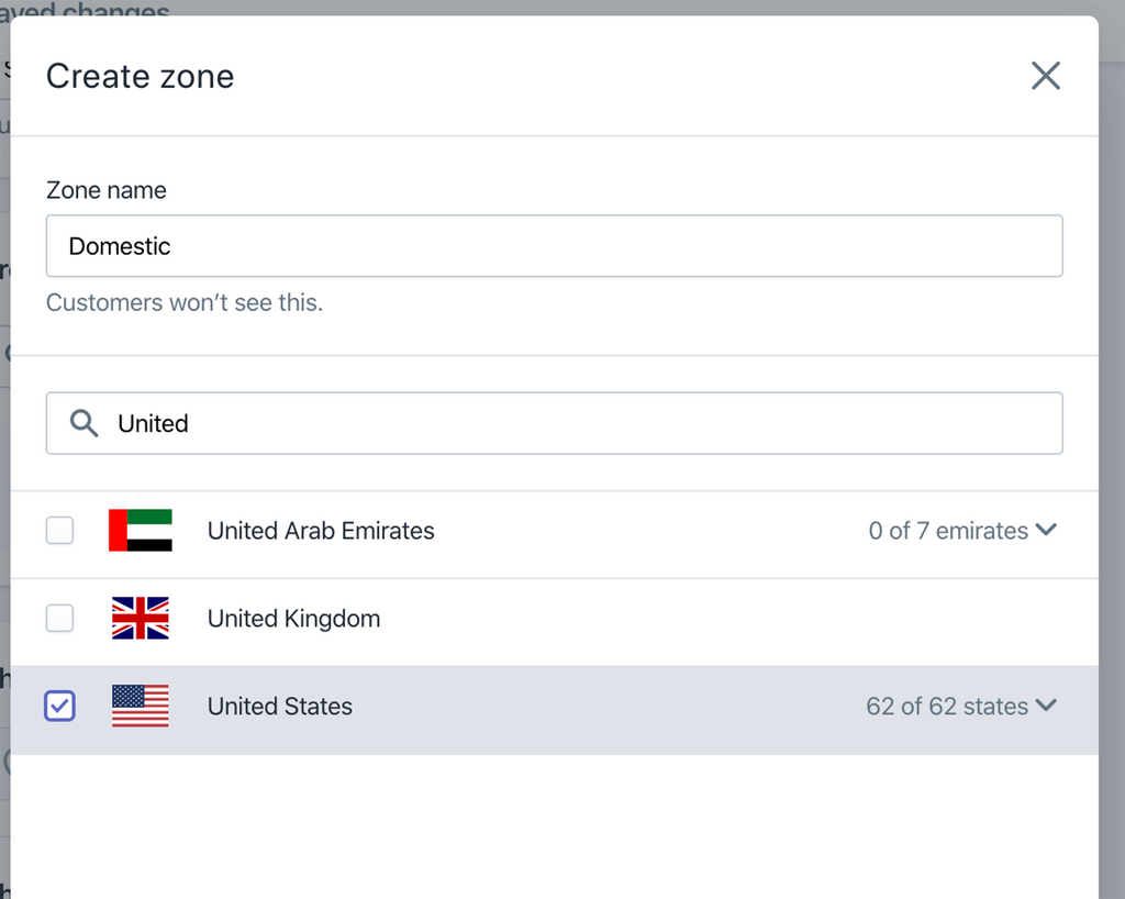 choose your country in Shopify shipping zone- Veronica Jeans Shopify Queen & Bestselling Author ' Shopify Made Easy'
