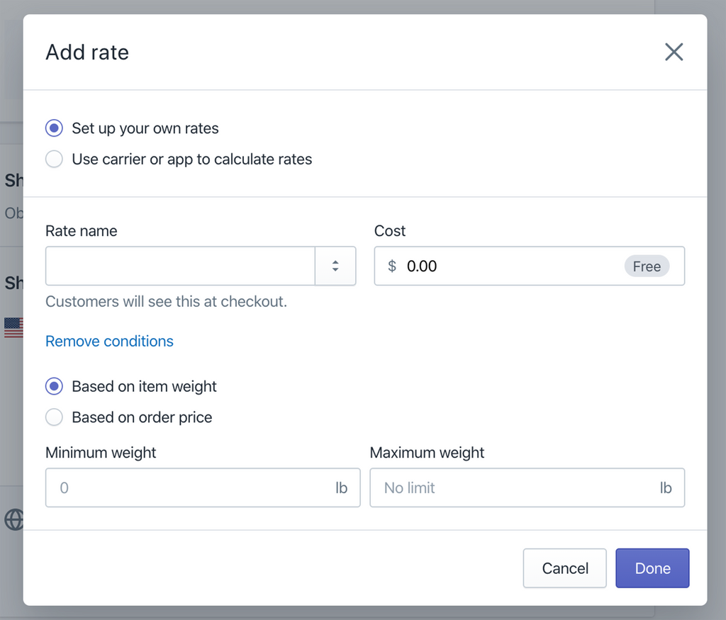create flat or manual shipping rates in Shopify- Veronica Jeans Shopify Queen & Bestselling Author ' Shopify Made Easy'