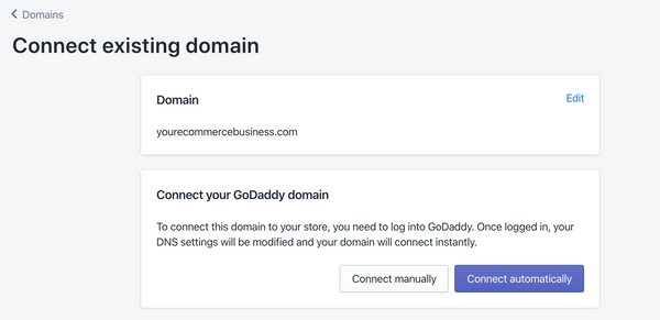 register your Shopify domain with a third party hosting company - Veronica Jeans Ecommerce Business Consultant & Bestselling author - Shopify Made Easy
