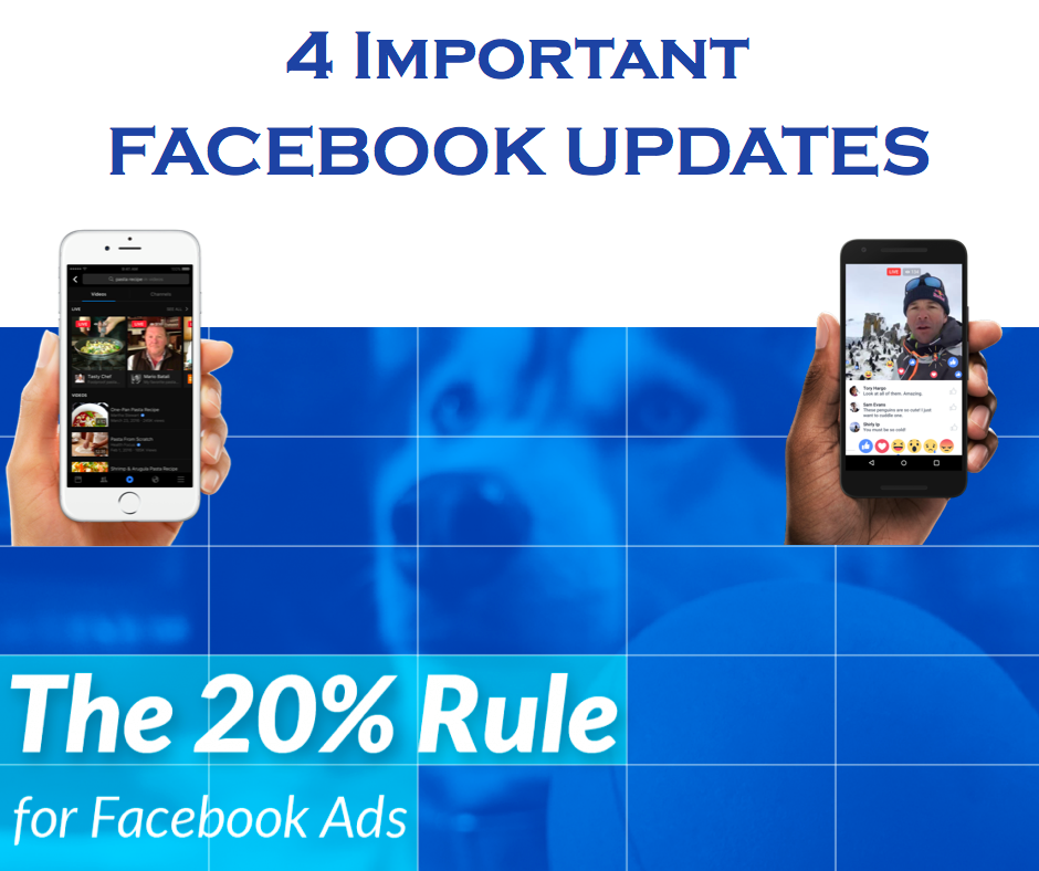 4 important updates in Facebook