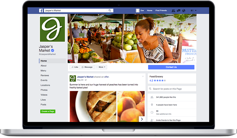 Redesigned facebook business Pages Rolling Out 2016