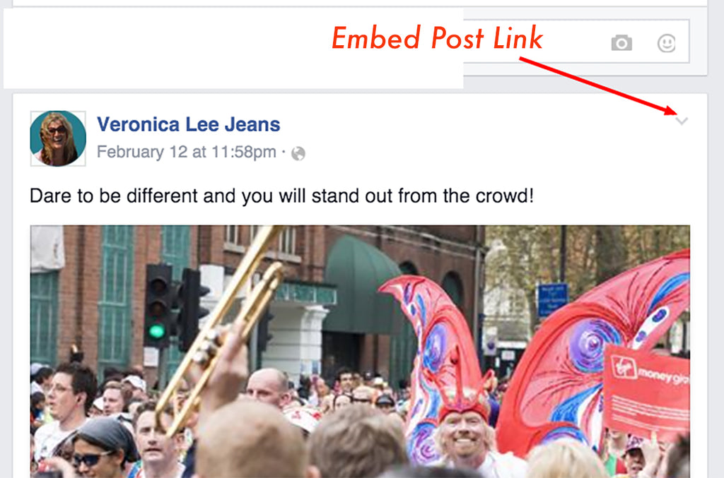 how to embed post link into your website and email