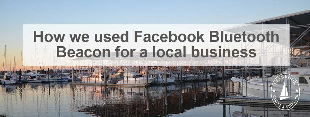 how to add facebook bluetooth beacon for your local business