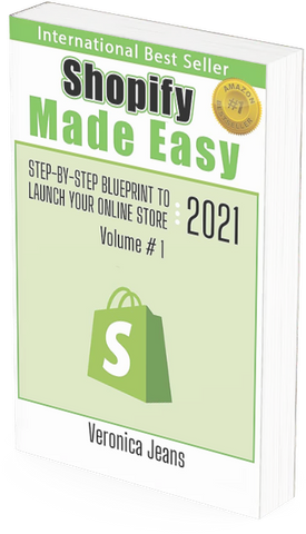 Shopify Made Easy - Ecommerce Business Foundation - Veronica Jeans Best selling author, shopify expert and ecommerce queen