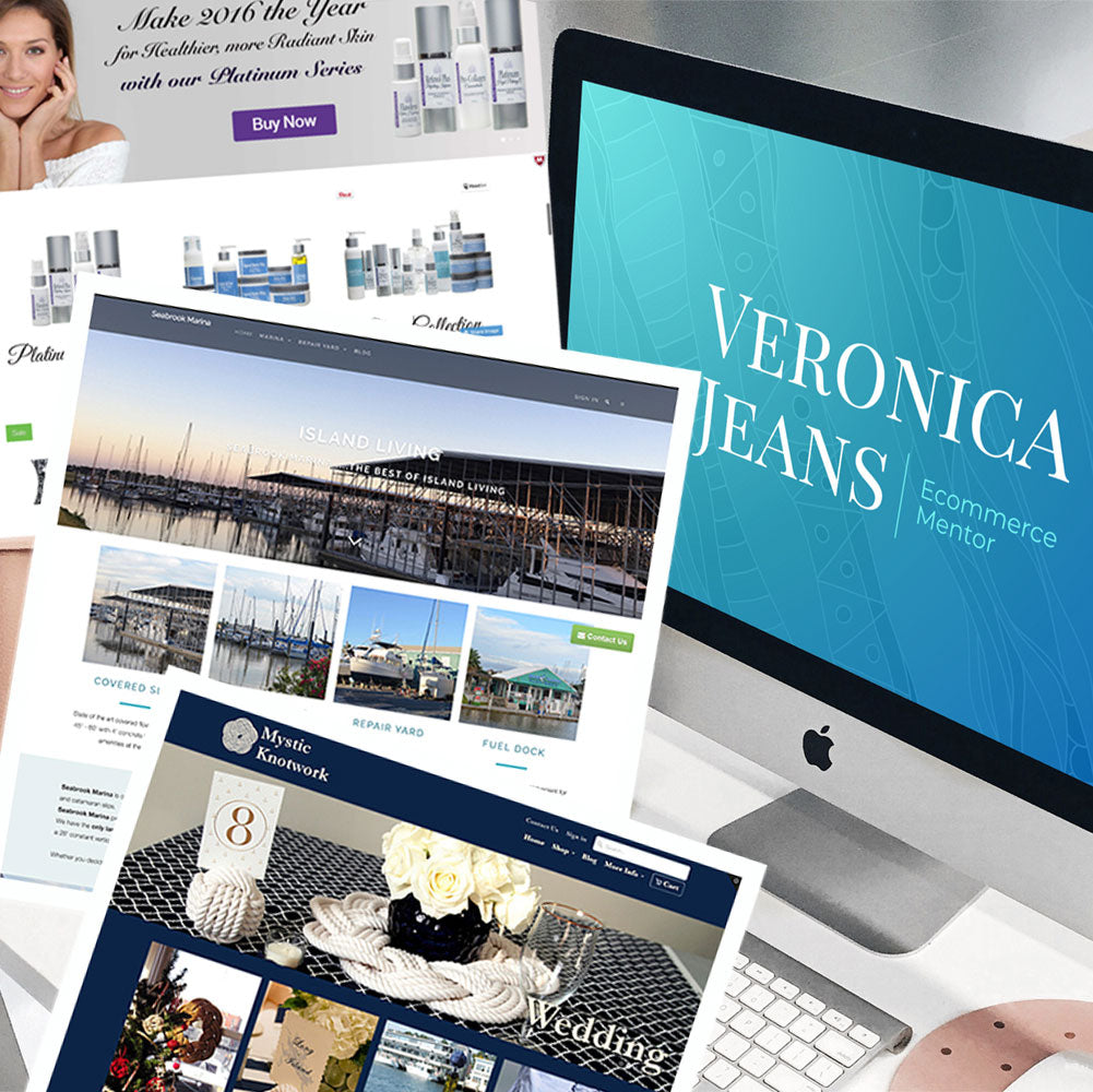 ecommerce course - Veronica Jeans