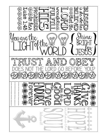 Bible Journal Printable 2