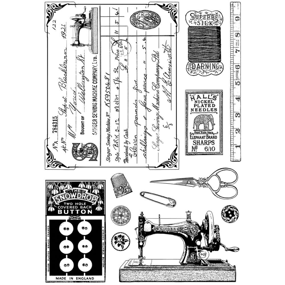 Sewing Notions Stamp
