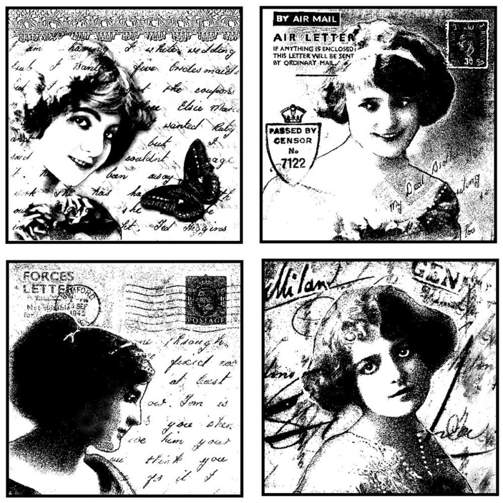 Love Letter Ladies Stamp