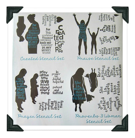 Faith Stencils Bundle