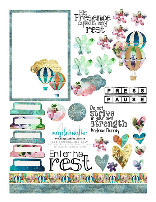 graphic relating to Printable Bible referred to as Chill out within Him Bible Journaling Printable