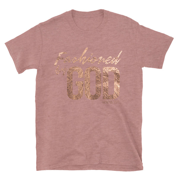 Fashioned by GOD (Unisex Fit)_Mauve Heather