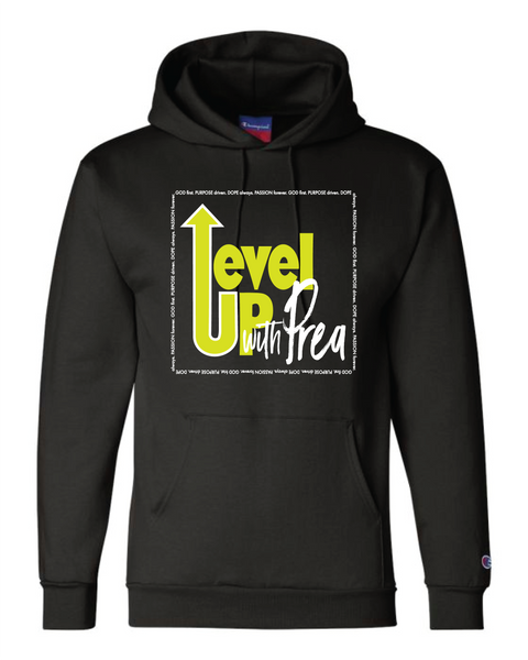 Level Up with Prea Logo Sweatshirt
