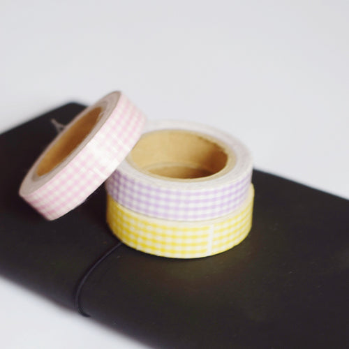 'Macaroon' 3-Piece Washi Tape Bundle