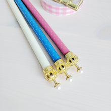 Cream Crown Topped Mechanical Pencil