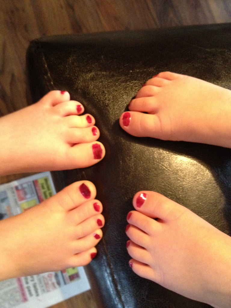Children's Manicures & Pedicures