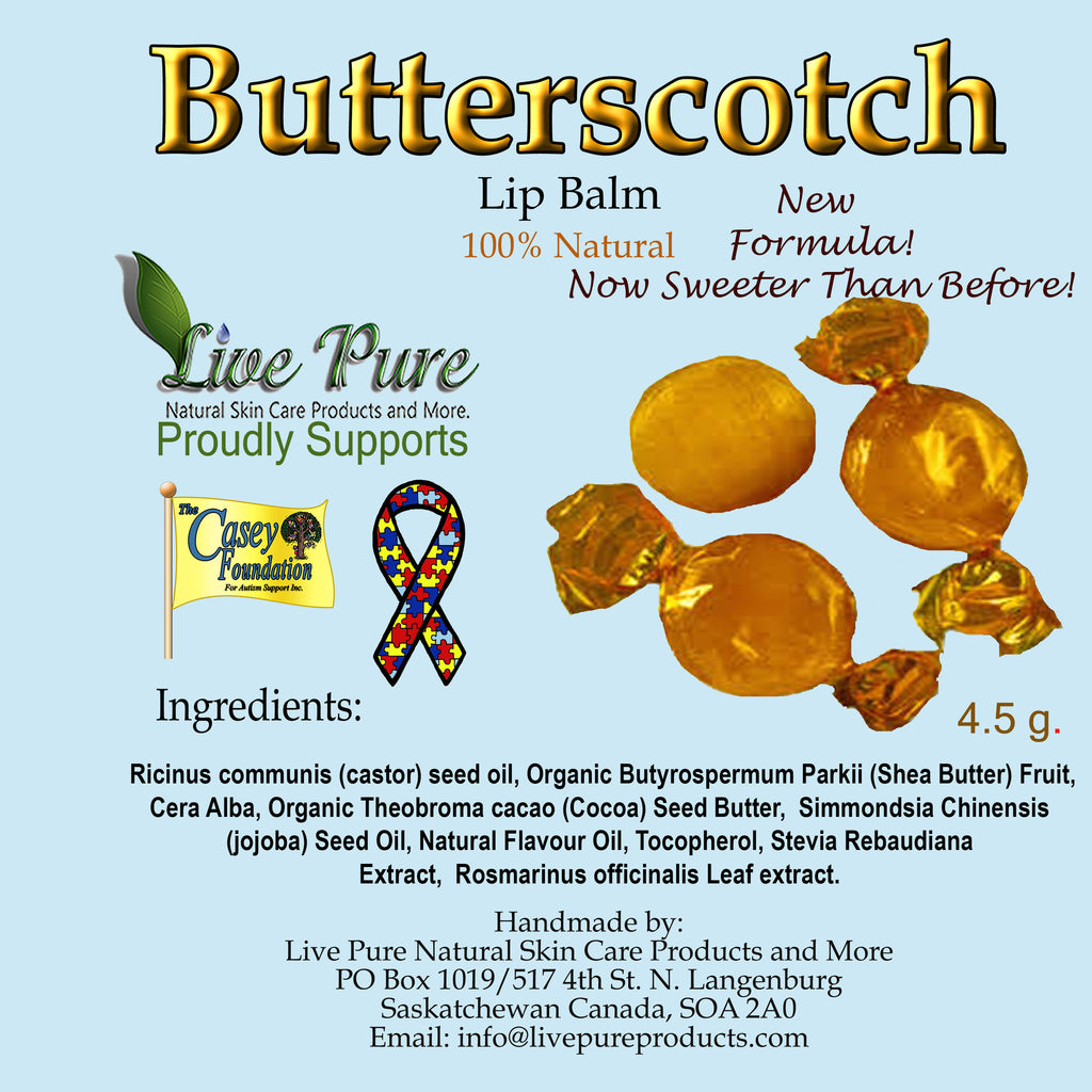 Butterscotch Lip Balm