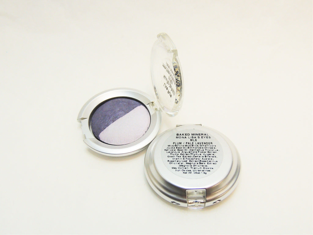 Plum/Pale Lavender Duo Eye Shadow