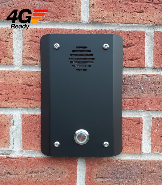4G, GSM and 3G Door Entry Intercom with Dial-to-Open SIM Free Any Network