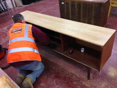 Dismantled sideboard