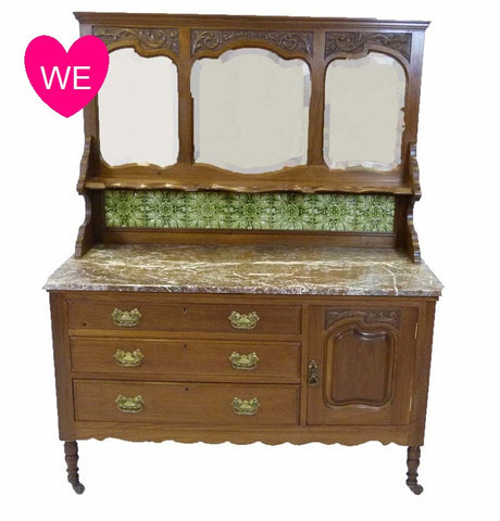Victorian Washstand / Sideboard - RE:SOURCE Vintage