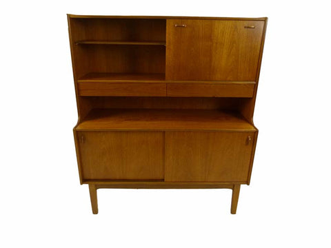 Nathan Tall Teak Sideboard - RE:SOURCE Vintage