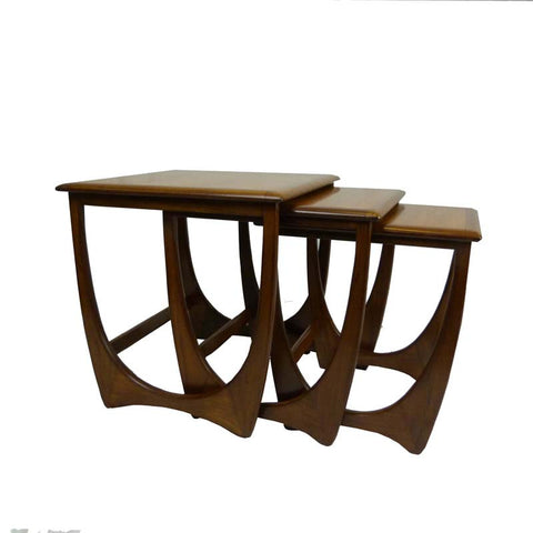 G-Plan Fresco Nest of Teak Coffee Tables - RE:SOURCE Vintage