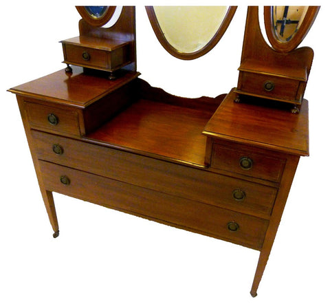 Three Mirror Dressing Table - RE:SOURCE Vintage