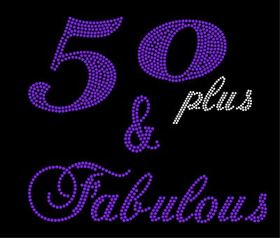 50 (PLUS) & FABULOUS Ladies Top