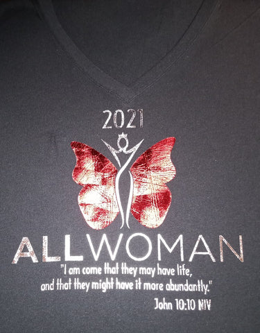 ALL WOMAN 2021 LOGO Tee