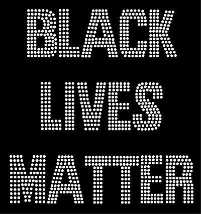 BLACK LIVES MATTER #1 Rhinestone Transfer
