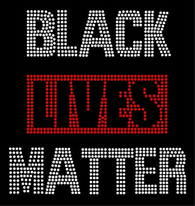 BLACK LIVES MATTER #2 Rhinestone T-shirt