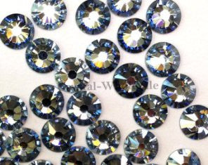 3mm (SS10) BLACK DIAMOND RHINESTONES