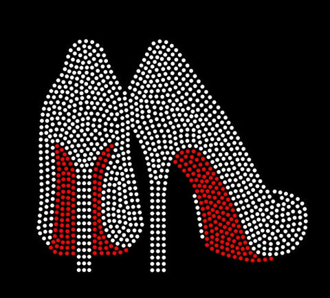 HIGH HEEL #3 RHINESTONE TRANSFER DOWNLOAD File