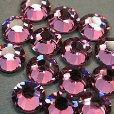 3mm (SS10) LIGHT AMETHYST RHINESTONES
