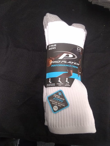 MENS PRO PLAYER PERFORMANCE CREW SOCK